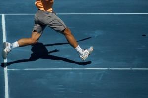 Rafael Nadal lesiones en pista azul