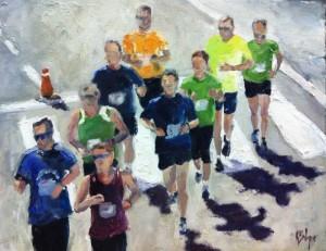 Rosa Balaguer pintura running