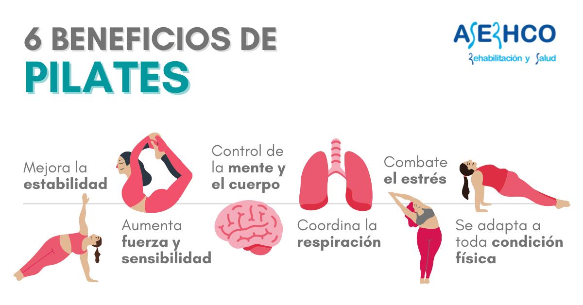 beneficios de Pilates para la salud
