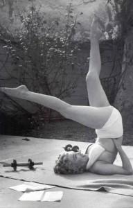 Marilyn Monroe Pilates