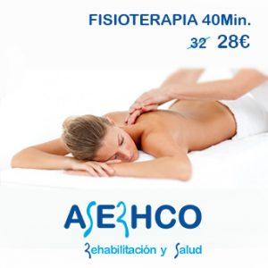 Sesión de fisioterapia en Zaragoza
