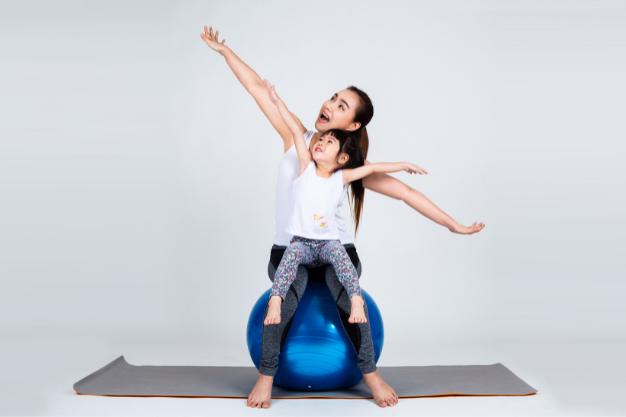 pilates con bebés