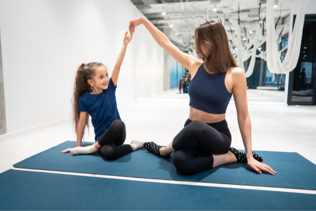 beneficios de practicar pilates en familia