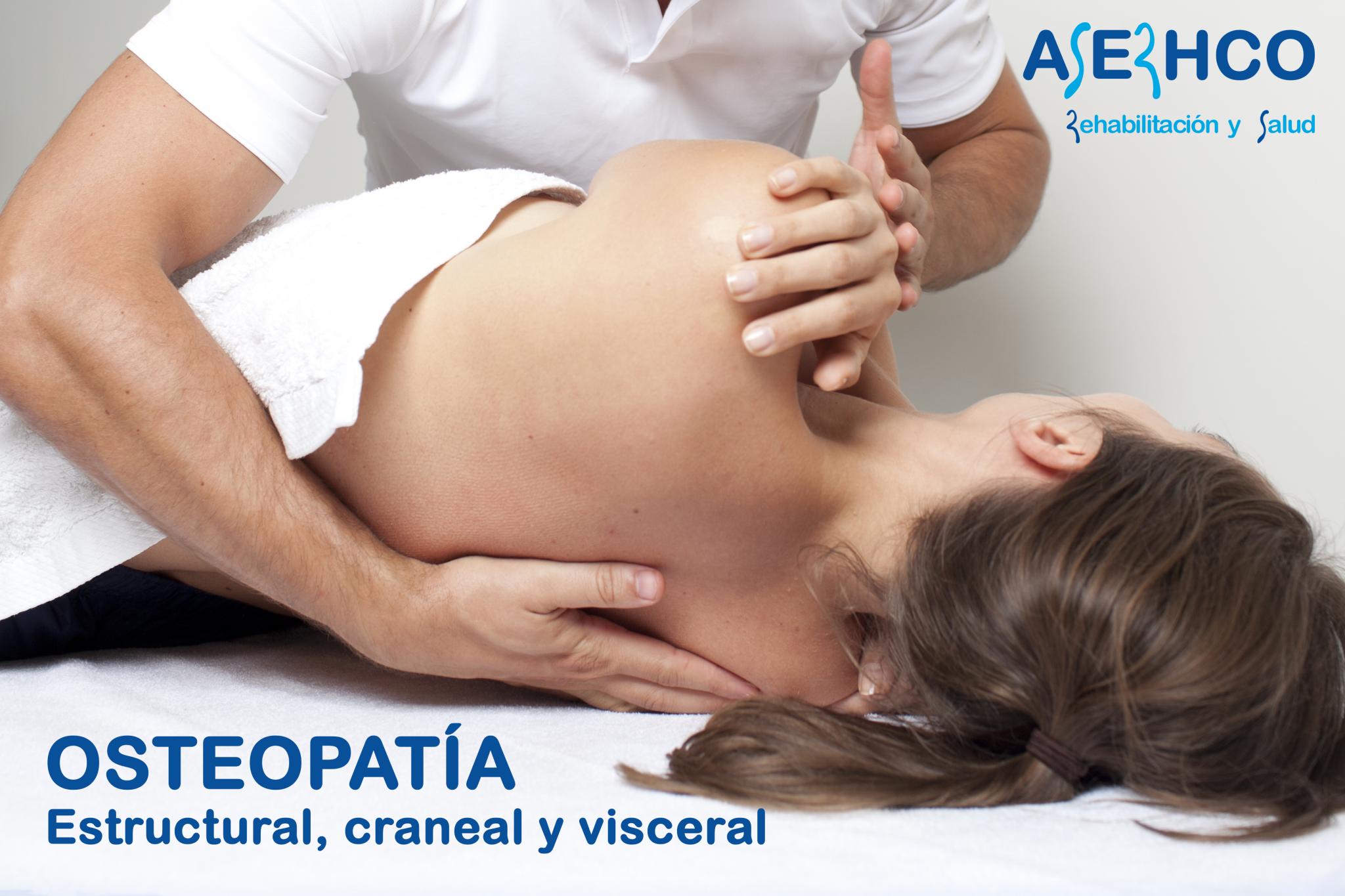 Osteopatía en Zaragoza ASERHCO