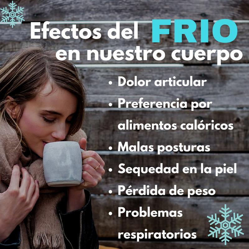 Efectos del frío en nuestro cuerpo