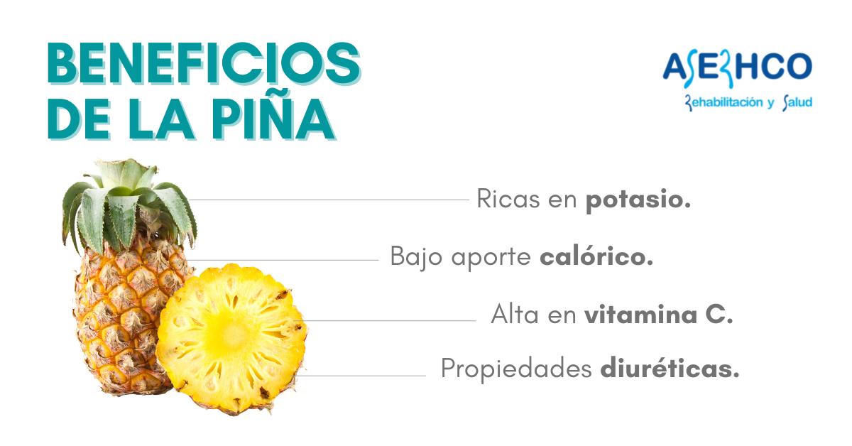 Propiedades nutricionales de la piña