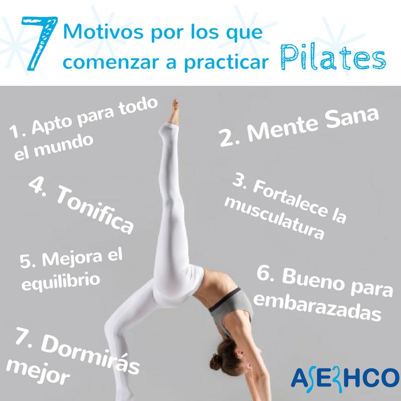 Motivos por los que practicar Pilates