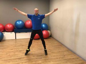 Jumping Jacks, 5 ejercicios para ponerse en forma