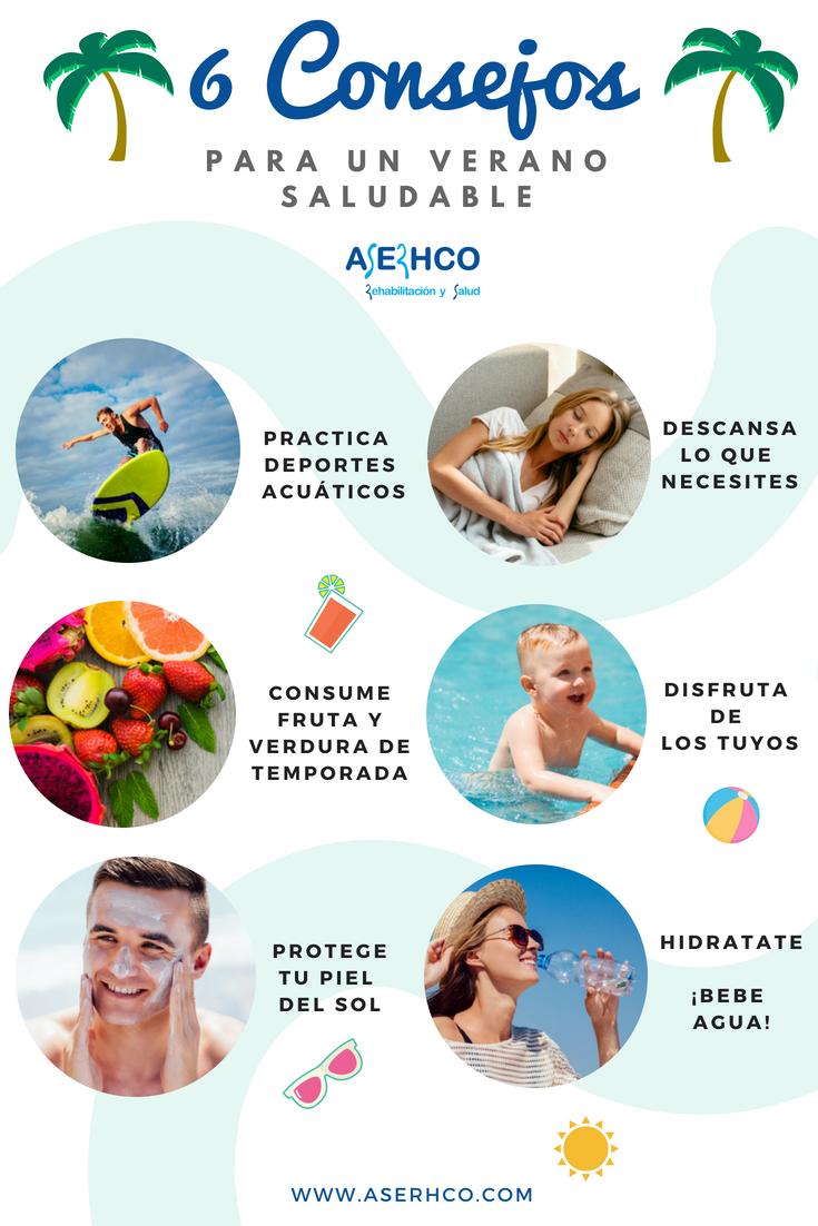 6 consejos verano saludable