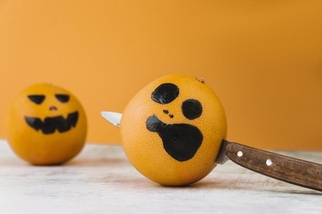 comer en halloween