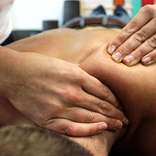 masaje para contracturas