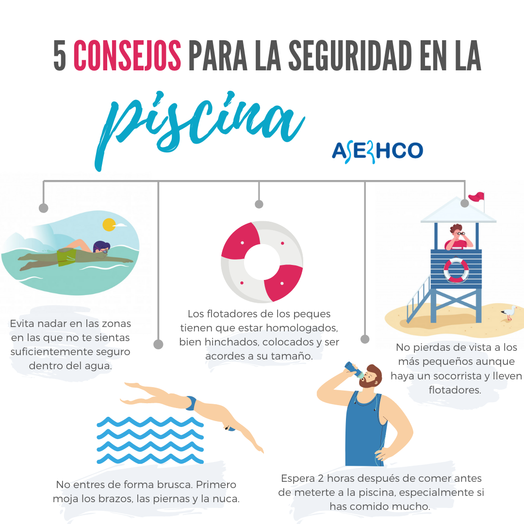 medidas seguridad piscinas