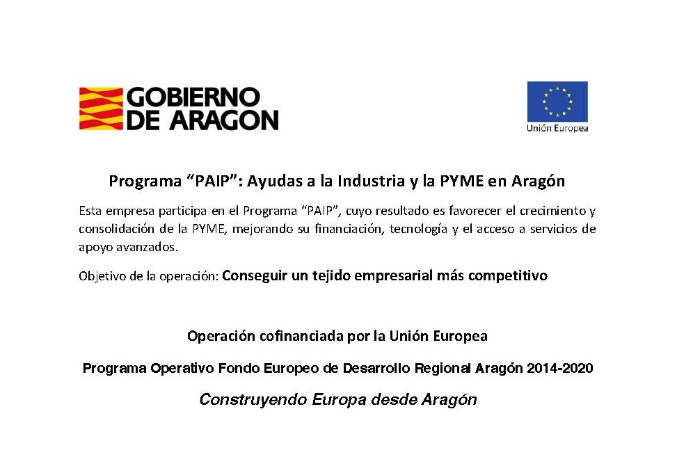 gobierno de aragon programa PAIP
